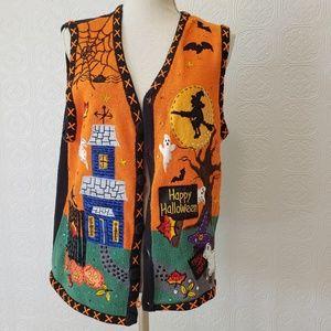 Happy Halloween Sweater Vest